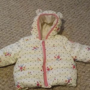 Baby Gap puffer 0-6 mt coat
